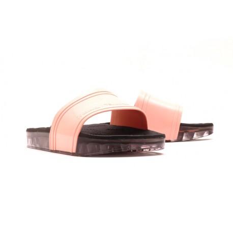 Claquettes rose et noir Melissa Slide+Rider