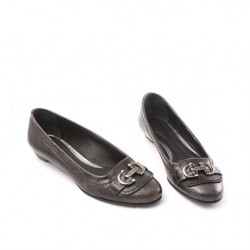 Triver flight - ballerines en cuir marron