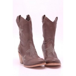 Bottines marron Fru.it