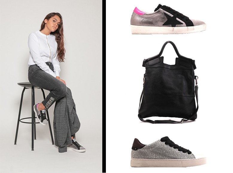 Sneakers Crime, Méliné, sac Rehard, ensemble MosMosh