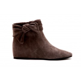 Bottines What For en daim gris