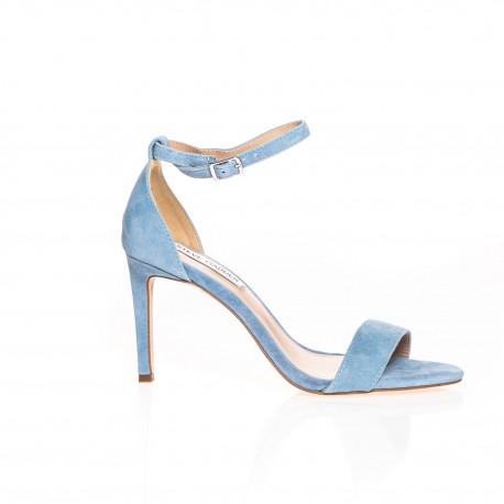 Steve Madden sandale épurée en suédé bleu ciel